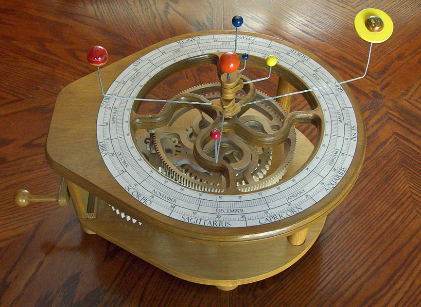 Plans To Build Wooden Orrery Plans Pdf Plans