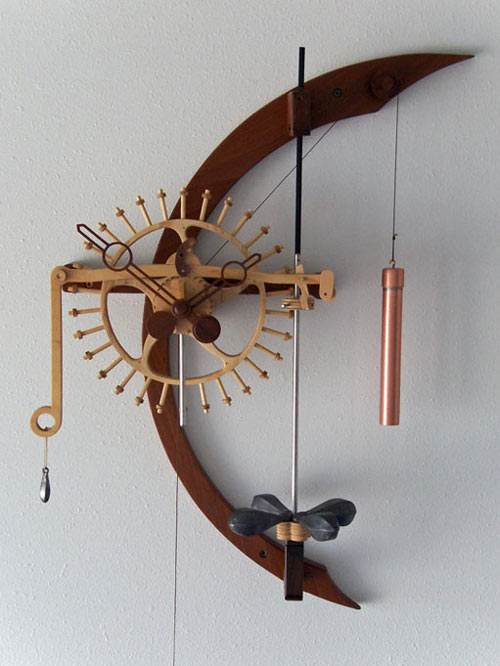 wooden clock plans for free